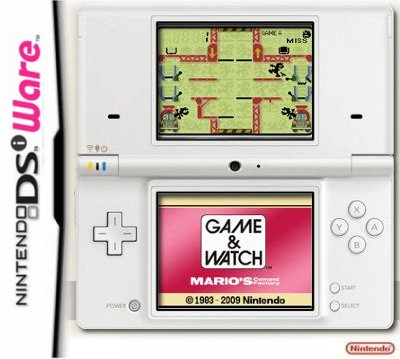 Game and Watch Cement Factory