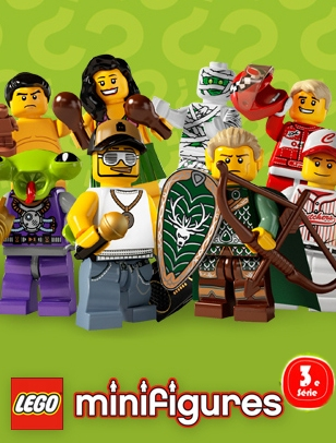 Minifigs Series 3