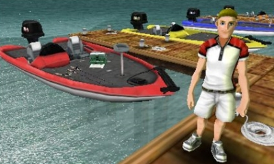 Anglers club ultimate bass fishing 3ds news reporting gamer for The fishing club 3d