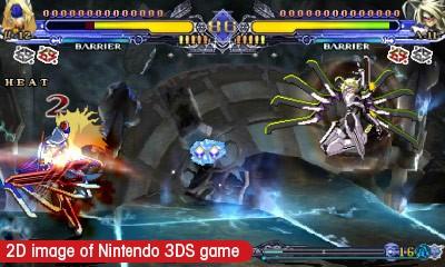 BlazBlue: Continuum Shift 2 3DS Review | Novel Gamer