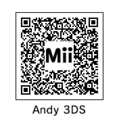 QR Mii Code on 3DS