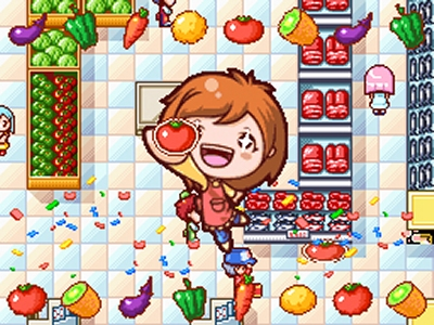 Cooking Mama 3 - screen two.