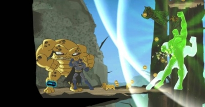 batman the brave and the bold wii bosses