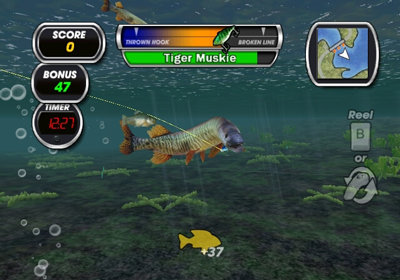 Shimano xtreme fishing wii review tech gamer for Wii fishing games