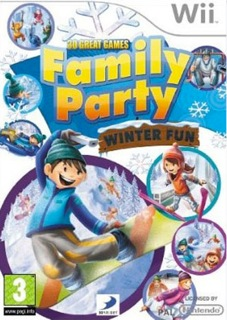 Family Party Winter Fun